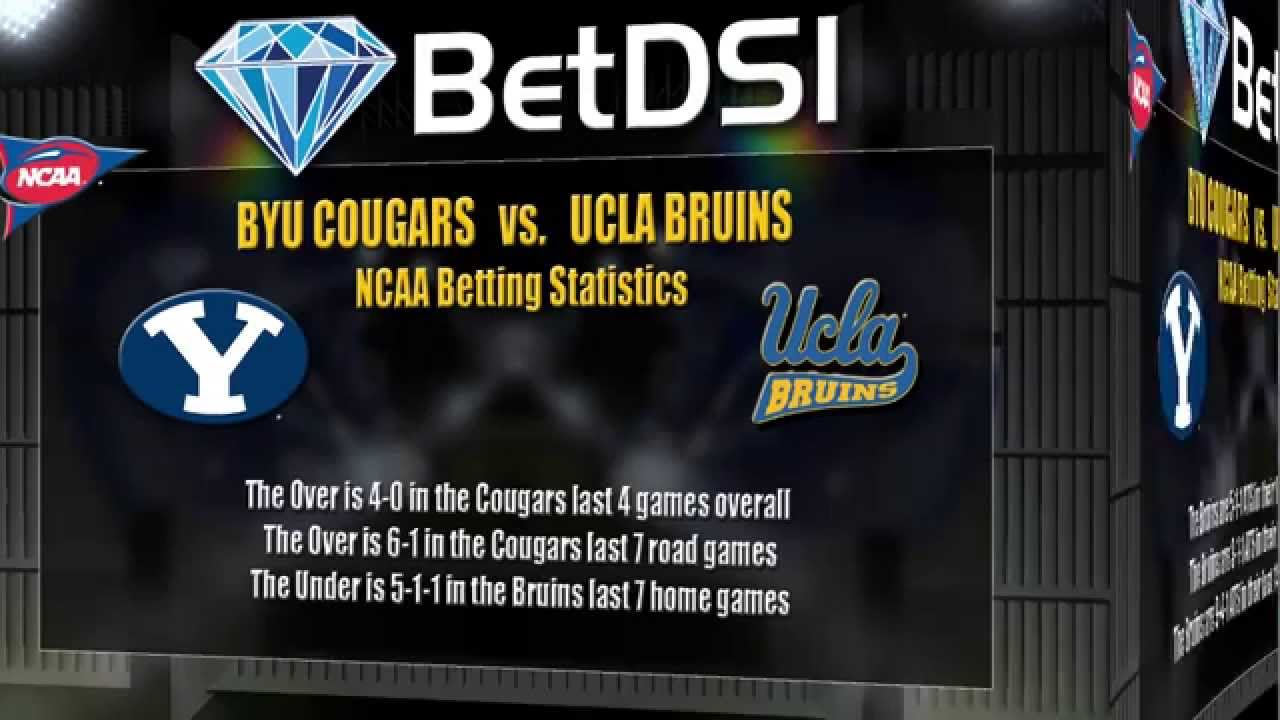 BYU Cougars vs UCLA Bruins Odds | Free NCAA Football Picks ...