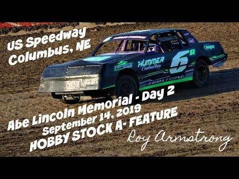 09/14/2019 US 30 Speedway Abe Lincoln Memorial Hobby Stock A-Feature