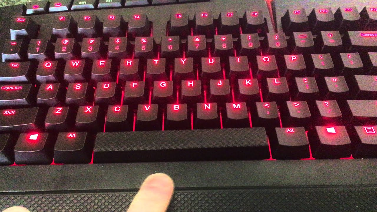 Lenovo Y Gaming Keyboard Review Youtube