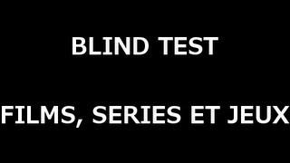 BLIND TEST Quizz musiques de film, série et jeux avec les réponses