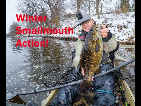 Winter Smallmouth Bass Fishing In Minnesota