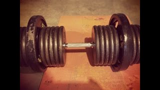 240 Pound Dumbbell Rows For 10 Reps - Age 47