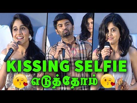 நாங்க ஒண்ணா சேந்து Kissing Selfie எடுத்தோம் | Actor Atharva Murali Open Talk