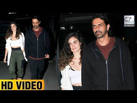Arjun Rampal Caught With Rumoured Girlfriend Gabriella On A Dinner Date | LehrenTV Mp3