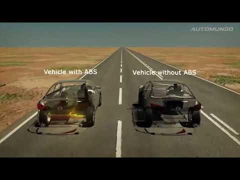 Así funciona el Sistema de Frenos Antibloqueo (ABS)