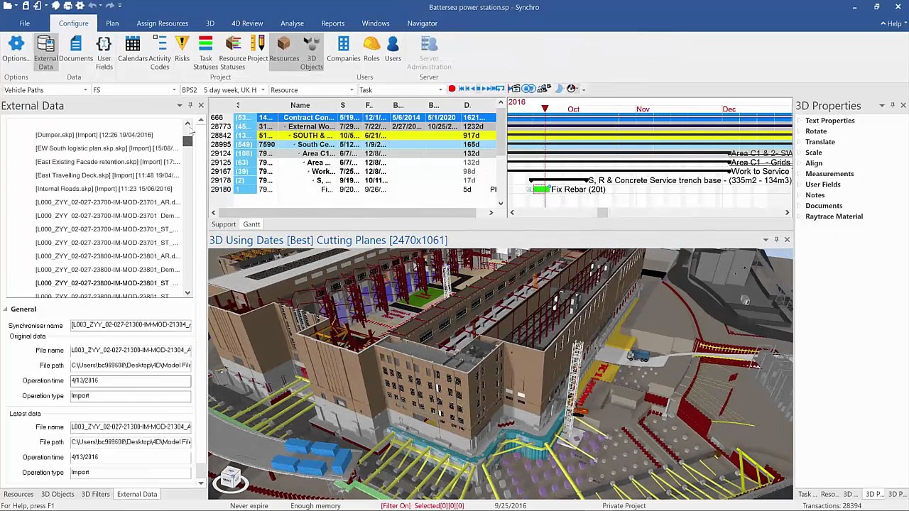Synchro pro 4d bim construction scheduling and project for Construction site plan software