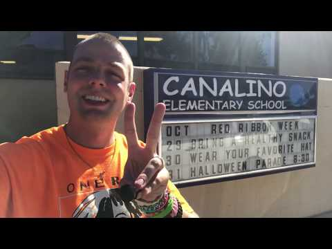 Mr. Peace Visits Canalino Elementary School in Carpinteria, California