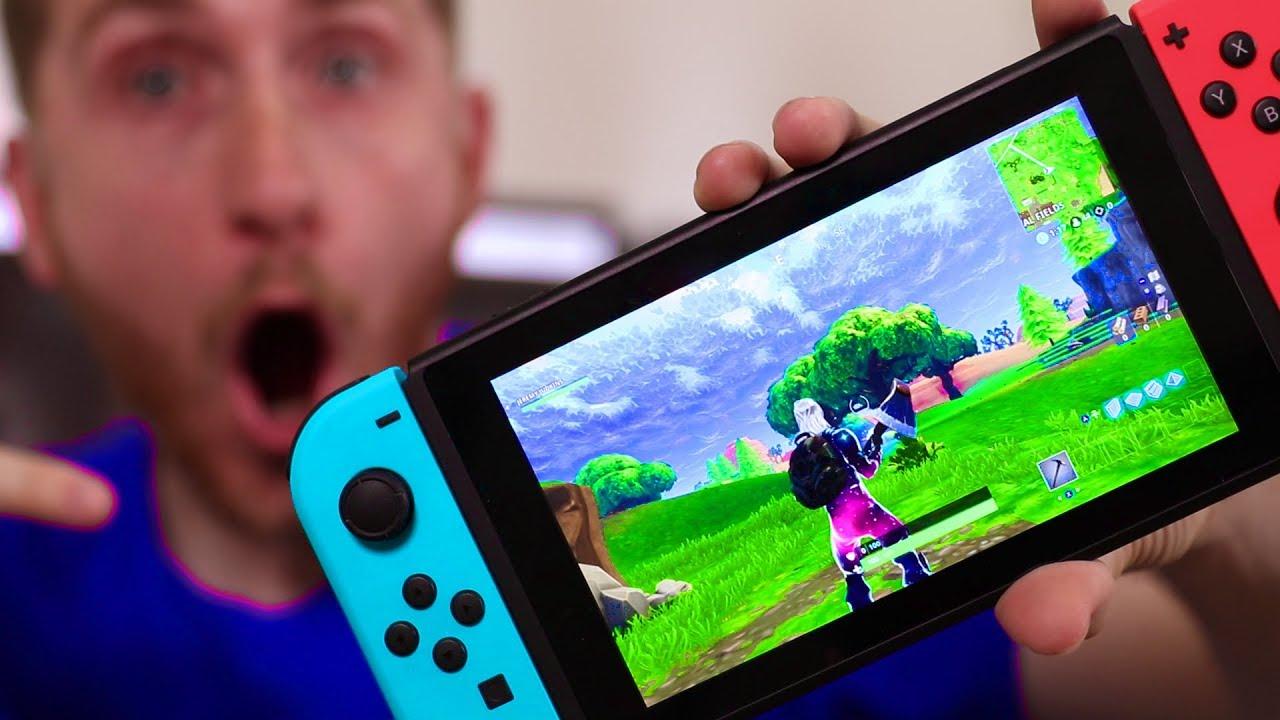 Fortnite Galaxy Skin on the Nintendo Switch - YouTube
