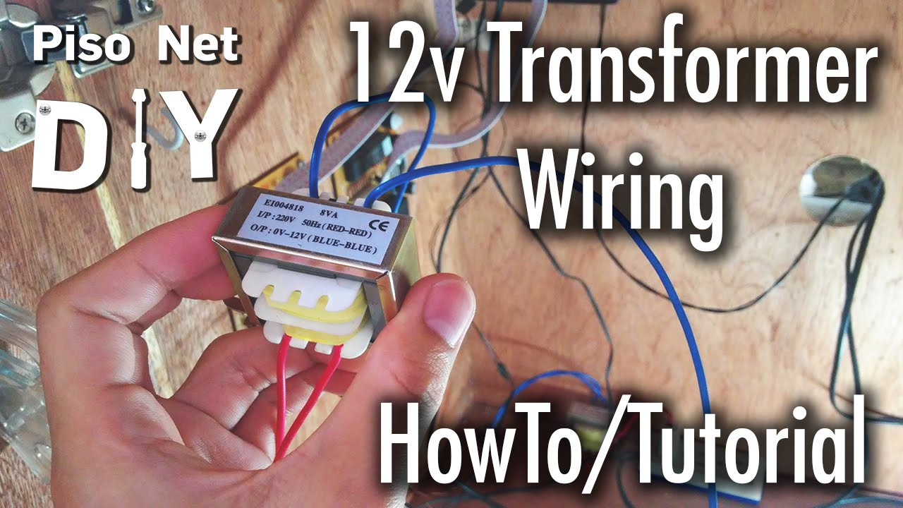 240v to 12v transformer wiring diagram blank venn 3 circles pisonet diy tutorial tagalog youtube