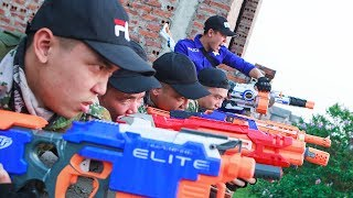 LTT Nerf War : SEAL X Warriors Nerf Guns Fight Attack Criminal Group Rescue Captain Special Force