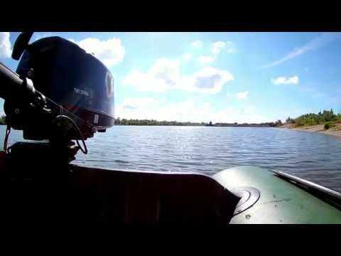 Тюнинг 2-х тактного лодочного мотора 2.6 л.с. Скорость 18км/ч.