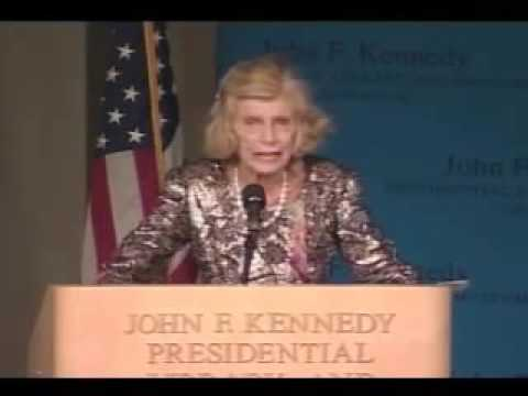 Eunice Kennedy Shriver discusses her life and legacy