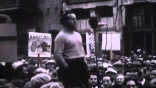 Footage of protests over 1933 Griffith Park Fire