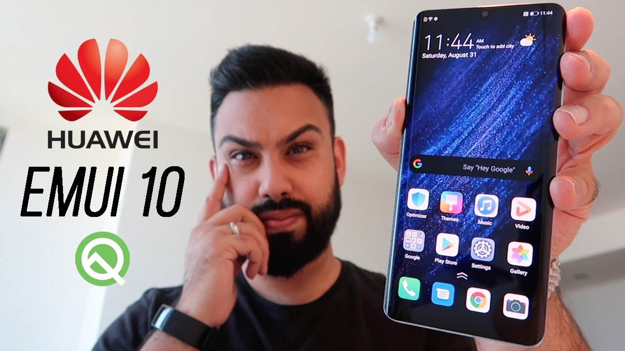 Huawei EMUI 10 (Android Q) Early Hands-On !!!