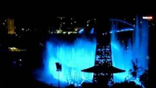 full show testing of world of color at disney s california adventure part 1