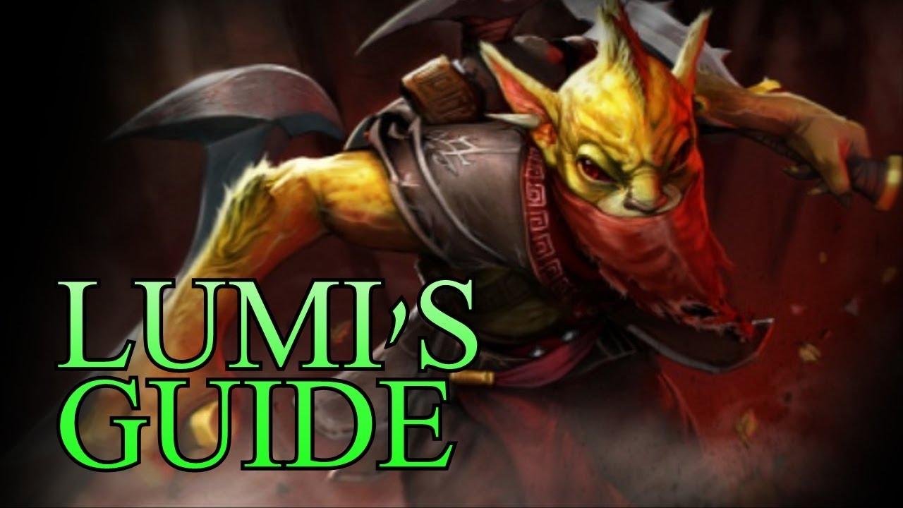 Bounty Hunter, DotA 2: hero features 14