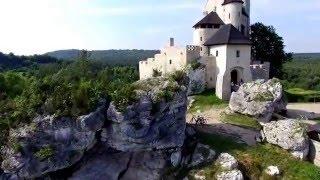 Zamek Bobolice - Jura Krakowsko Częstochowska