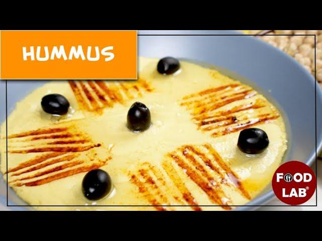 Hummus Recipe | How to make Hummus at Home | Food Lab