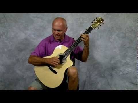 CS Model Demo - Stephen Kinnaird Guitars