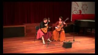 Astor Piazzolla - Tango Suite - Allegro - guitar duo Flâmas