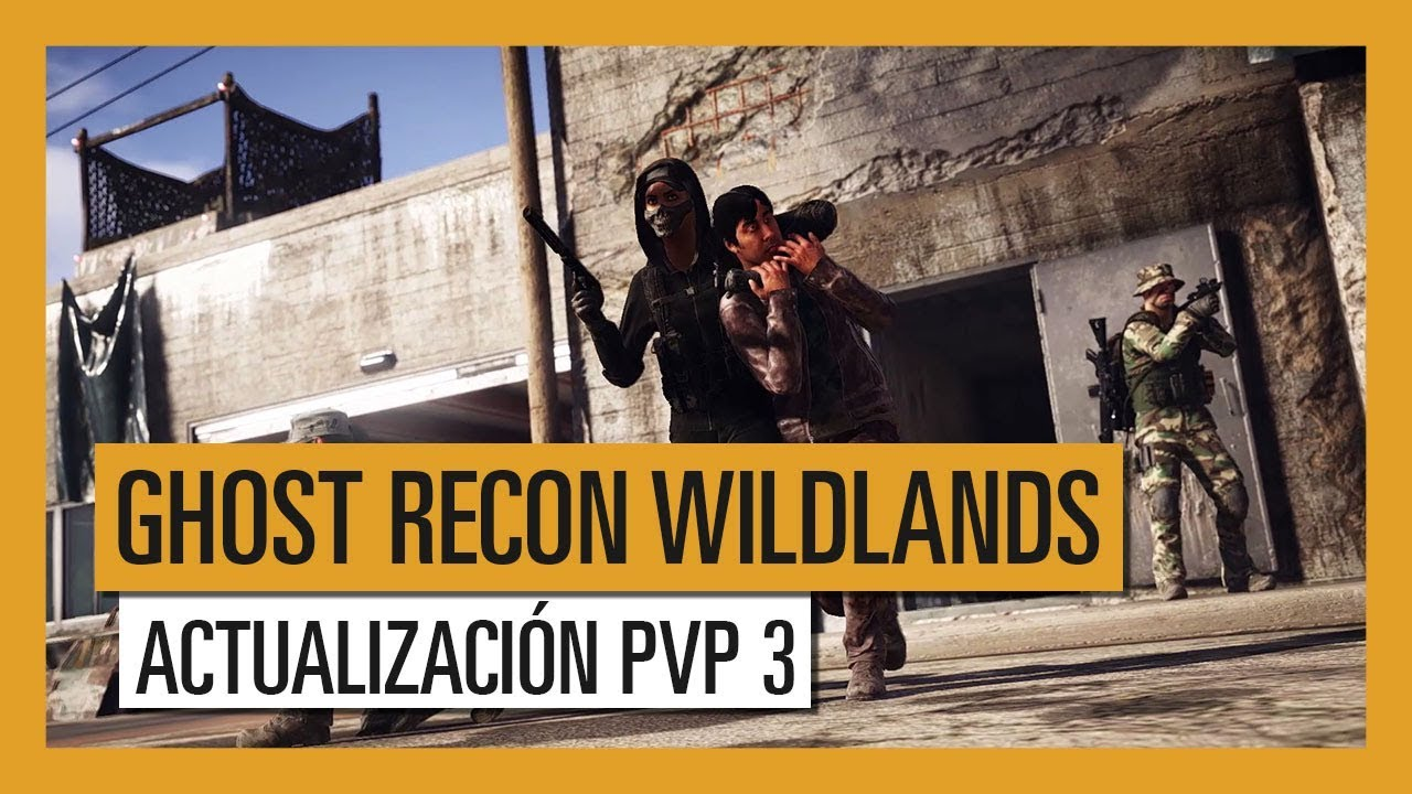 GHOST RECON WILDLANDS: Actualización PVP 3 - Extended Ops