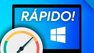 CÓMO ACELERAR tu PC con Windows 10 en 10 PASOS!