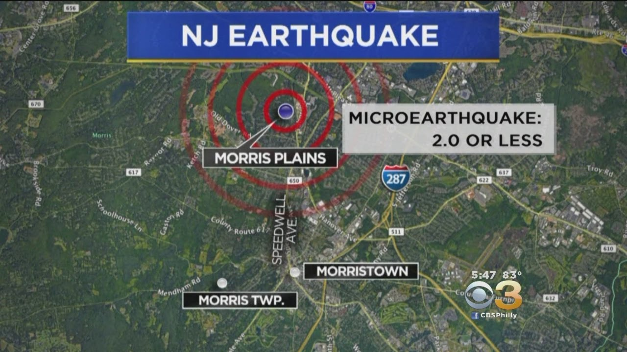 3.1 Magnitude Earthquake In Freehold, New Jersey Felt By ...