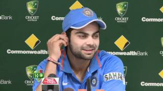 Feb 28th: Virat Kohli press conference