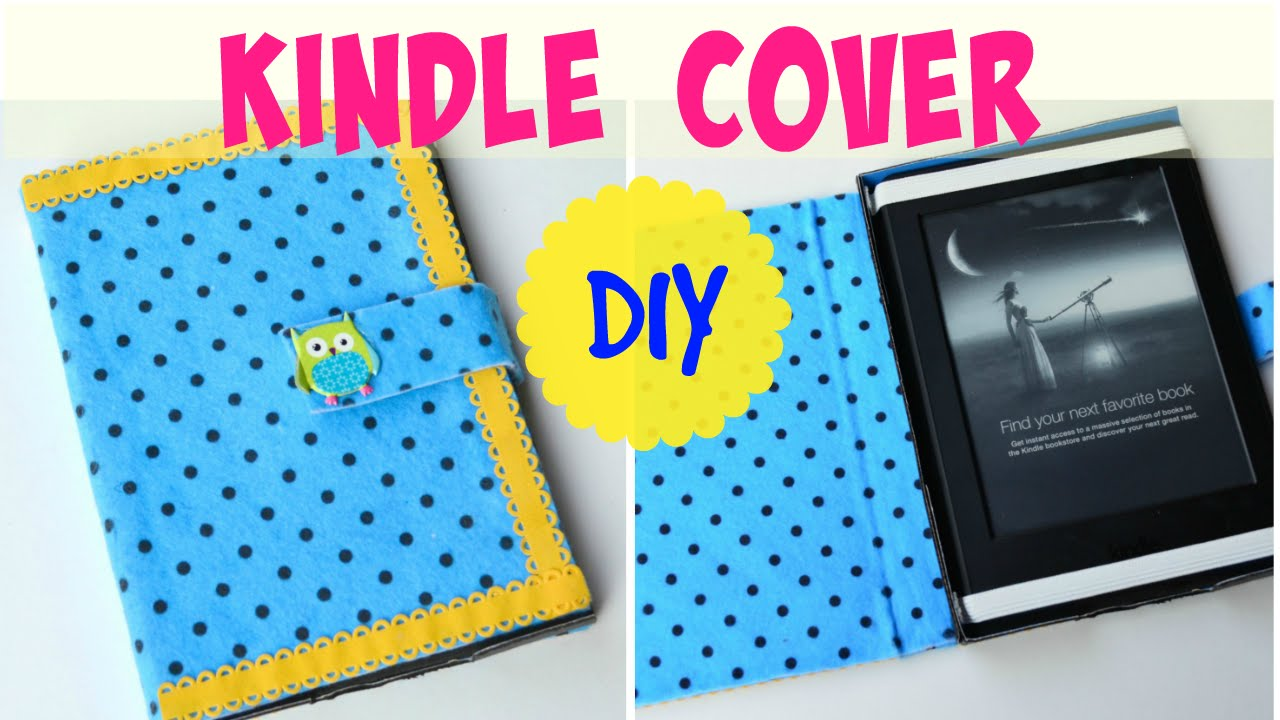 DIY Crafts: Kindle Paperwhite Cover tutorial!! Very easy and durable