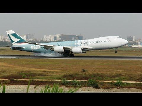 [HD] Plane Spotting @ Hazrat Shahjalal International Airport, Dhaka: Episode-94