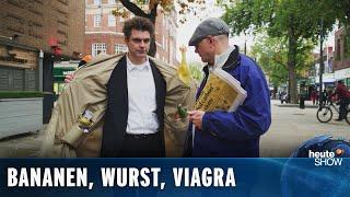 Brexit: Lutz van der Horst verkauft den Briten Schmuggelware | heute-show vom 11.10.2019