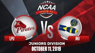 LPU vs. JRU | NCAA 95 Jrs Basketball | October 11, 2019