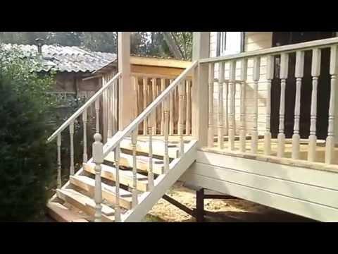 видео: Построен дачный дом 6х6 м с эркером 2х4 м и террасой. Видеообзор каркасного дома.