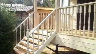 Смотреть видео Д-3 Каркасный дом 6x6 м