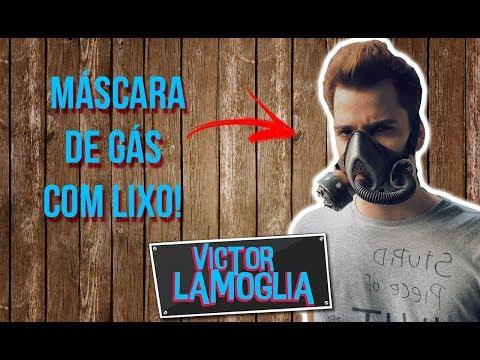 FIZ UMA MÁSCARA DE GÁS COM LIXO (DIY) - VICTOR LAMOGLIA