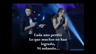 Prince Royce Ft Thalia- Te Perdiste Mi Amor New 2013 Lyrics