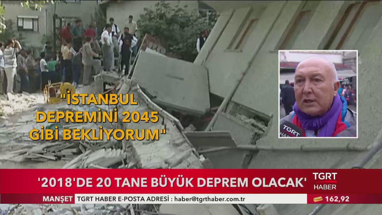 İstanbul Depremini 2045 Yılında Bekliyorum . 2018'de 20 Tane Büyük Deprem Olacak .