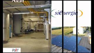 Sienergia SpA - Speciale Energie alternative - Protagonisti del Tempo News