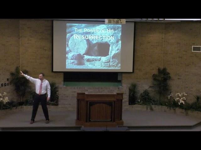 The Power of Resurrection - 12-1-19 pm - church of Christ sermon