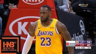 Los Angeles Lakers vs Chicago Bulls - 1st Half Highlights   November 5, 2019-20 NBA Season