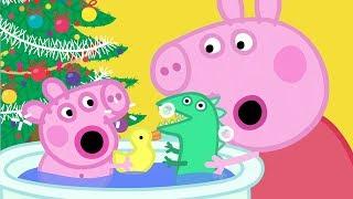 Peppa Pig Full Episodes | Santa's Grotto  (Part 1 of 2)  | Cartoons for Children