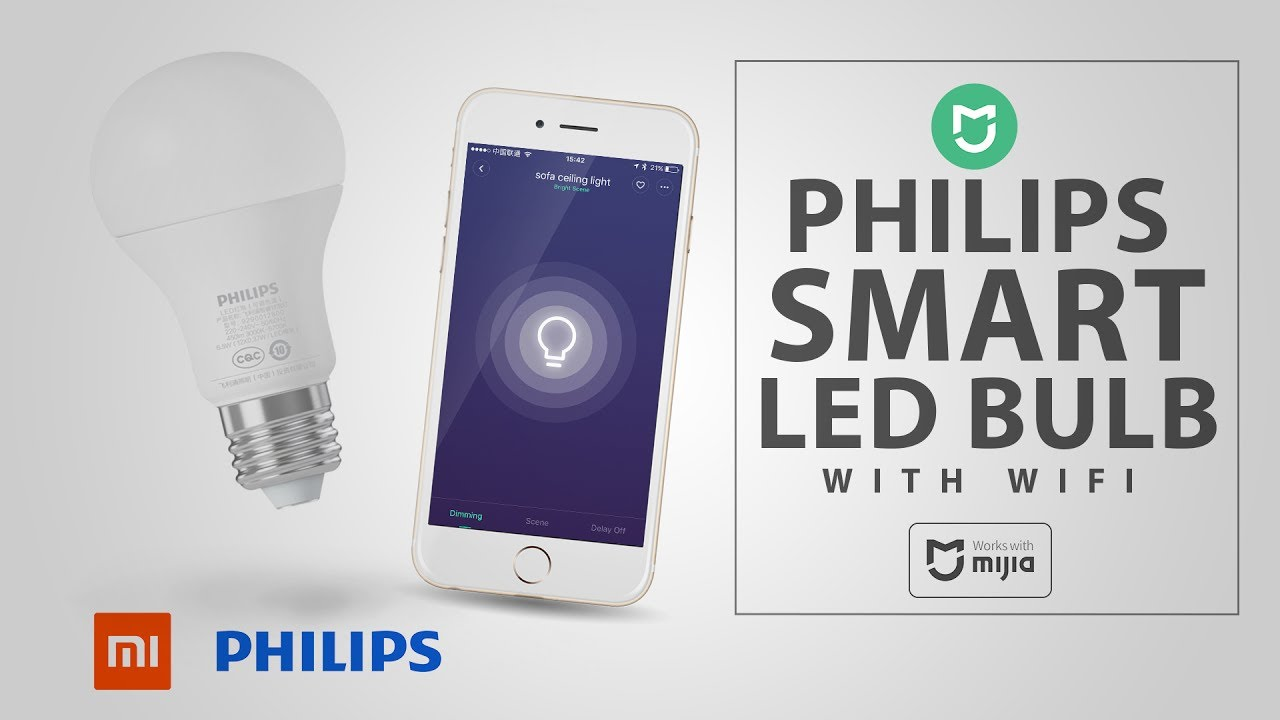 *New* Philips Smart LED lightbulbs +GiveAway! [Mi Home APP]