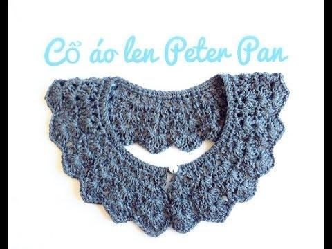 Móc cổ áo len rời Peter Pan