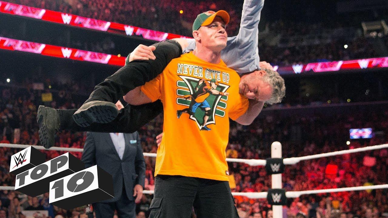 Celebrity beatdowns: WWE Top 10, March 11, 2019
