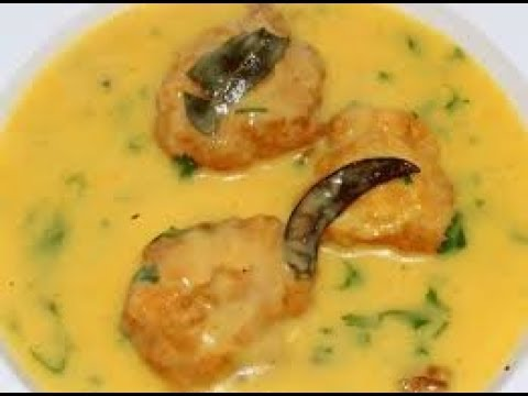 Recipe - Punjabi Kadi Pakoda |...