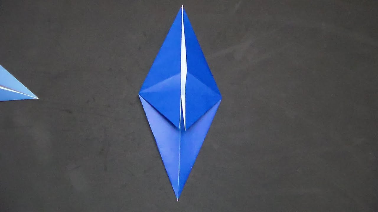 How to make the origami fish base youtube how to make the origami fish base jeuxipadfo Image collections