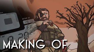 """Phantom Cigar scene"" Making Of (MGS V parody)"