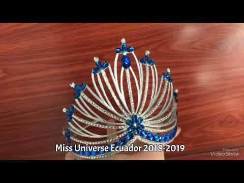 Making a paper Crown (MISS UNIVERSE ECUADOR)