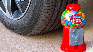 EXPERIMENT: Car vs Coca Cola, Floral Foam, Balloons   Crushing Crunchy & Soft Things by Car!