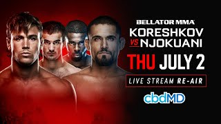 Re-Air | Bellator 182 Andrey Koreshkov vs. Chidi Njokuani